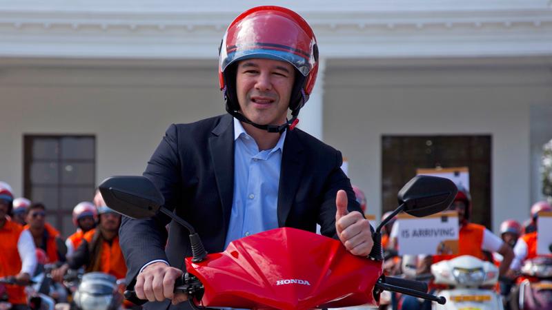 Uber founder Travis Kalanick steps down as CEO