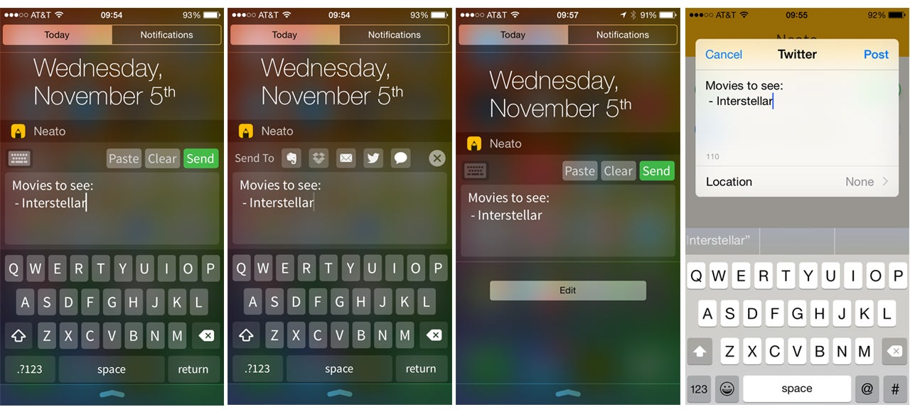 This Note-Taking App Is The First iOS Widget That's Actually Useful