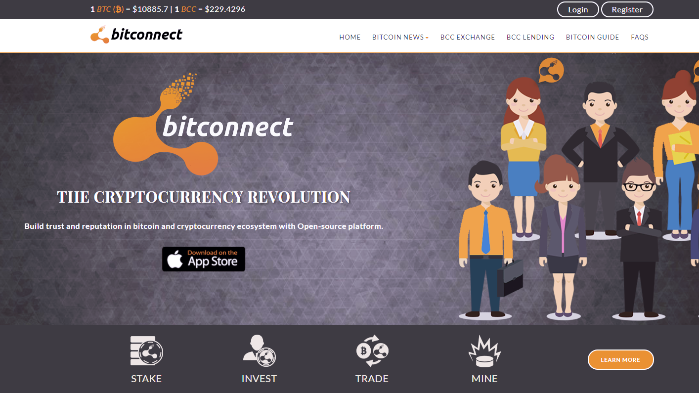 BitConnect, Anonymously-Run Crypto Exchange, Crashes After US States Issue Cease And Desists