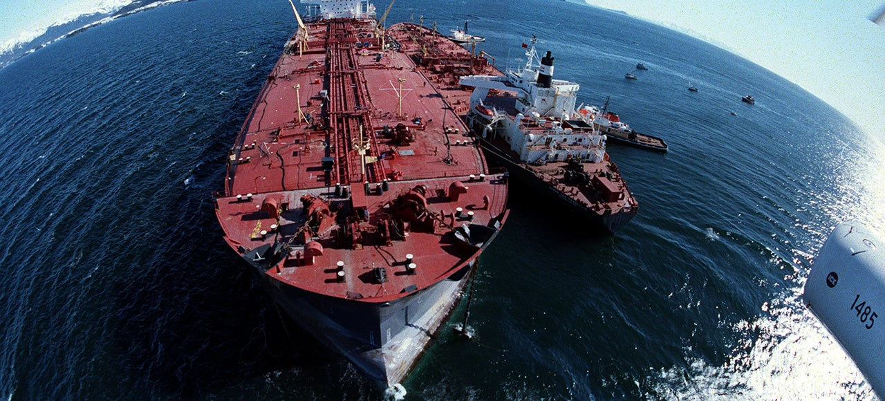 Haunting Photos From the Exxon Valdez Oil Spill Catastrophe