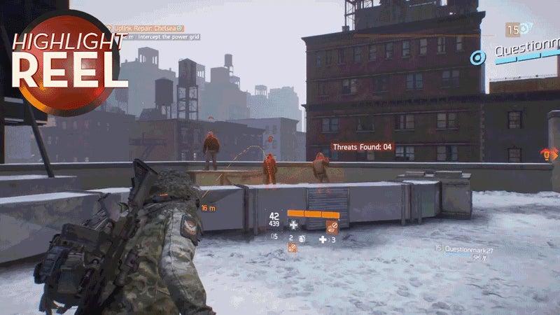 Division NPCs Have Bad Timing