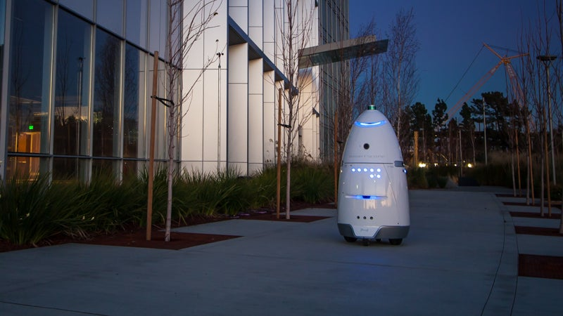 Shopping Centre Suspends Security Robot After It Clobbered A Toddler