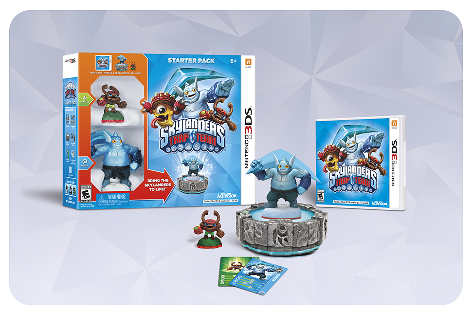 What's Different About Skylanders: Trap Team On 3DS
