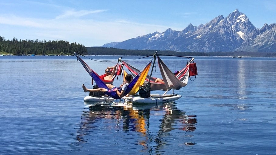 Maximise a Lazy Summer Afternoon With This Absurd Raft Full of Hammocks
