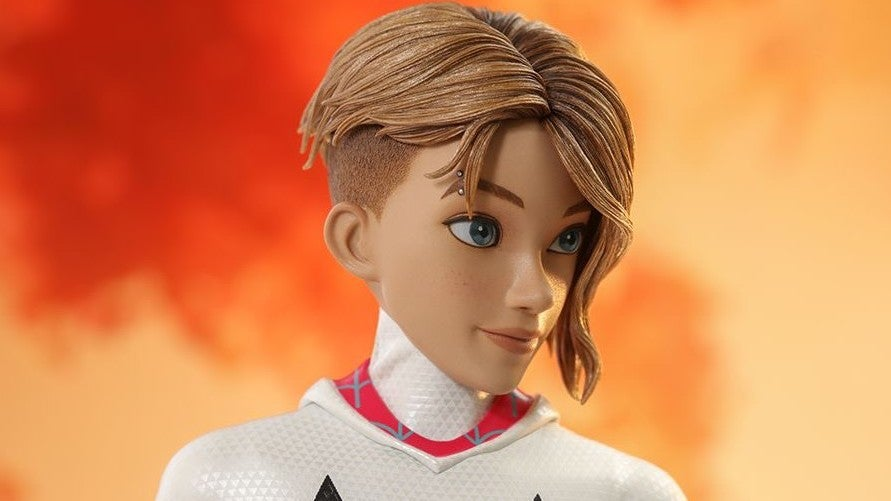 Hot Toys' Spider-Gwen And Her Perfect Hair Want To Soar Into Your Spider-Verse
