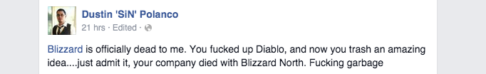 The Internet Reacts To Blizzard Cancelling Titan
