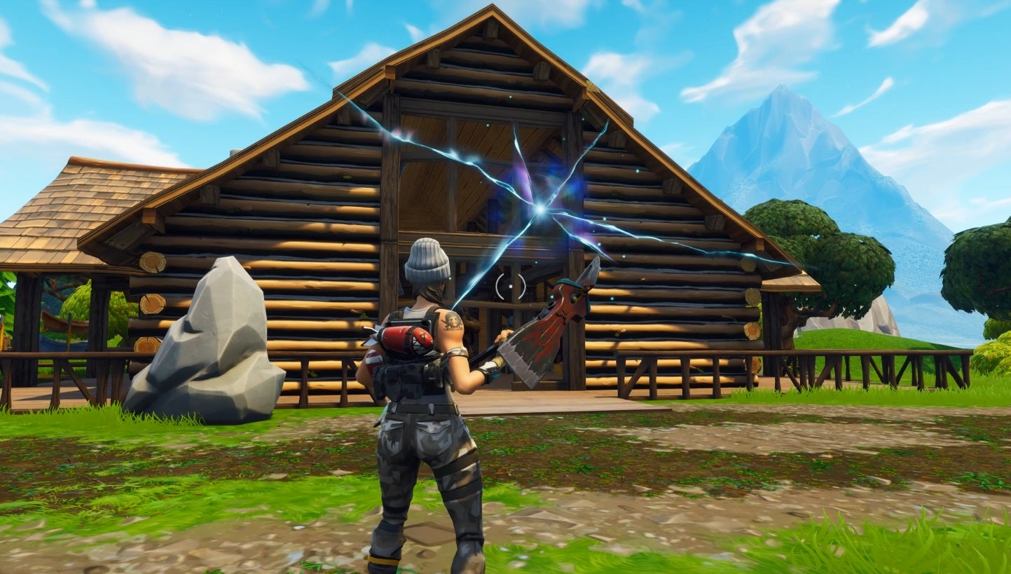 A Tear Is Growing In Fortnite's Space-Time Continuum