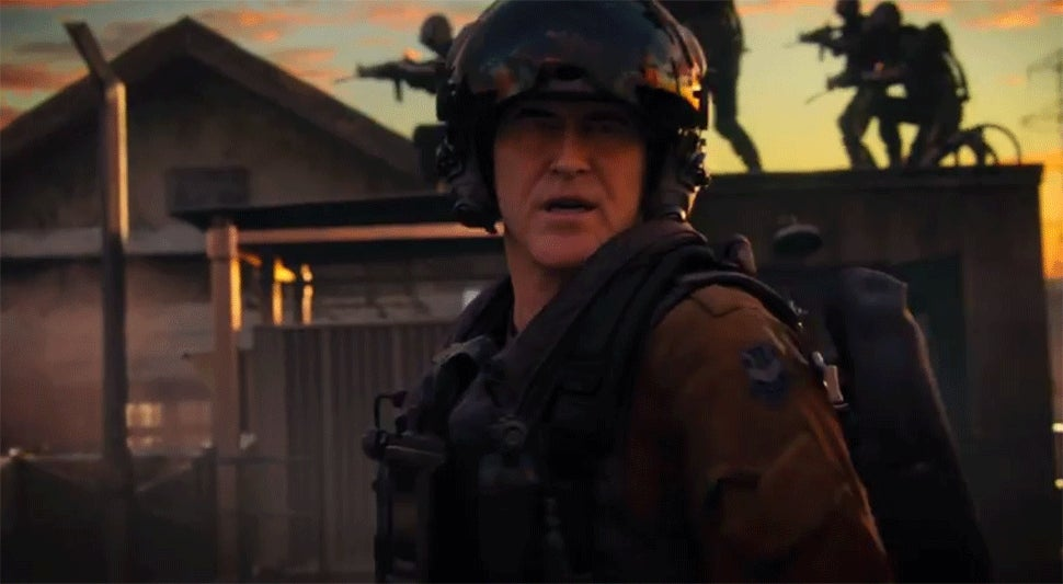 There's Playable Bruce Campbell In Next Week's Call Of Duty DLC