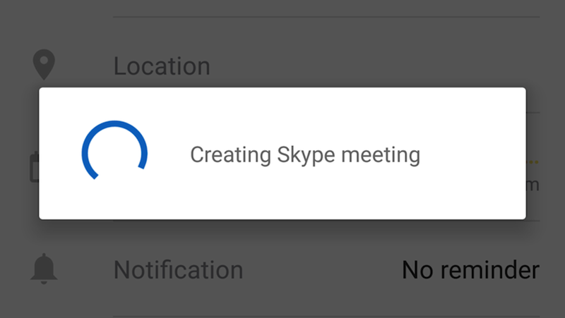 You Can Now Schedule Skype Calls In Outlook Calendar