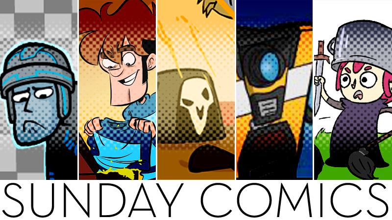 Sunday Comics: You Must Be Really Sore
