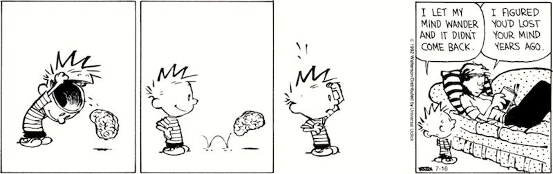 Bill Watterson's Best Productivity Tricks