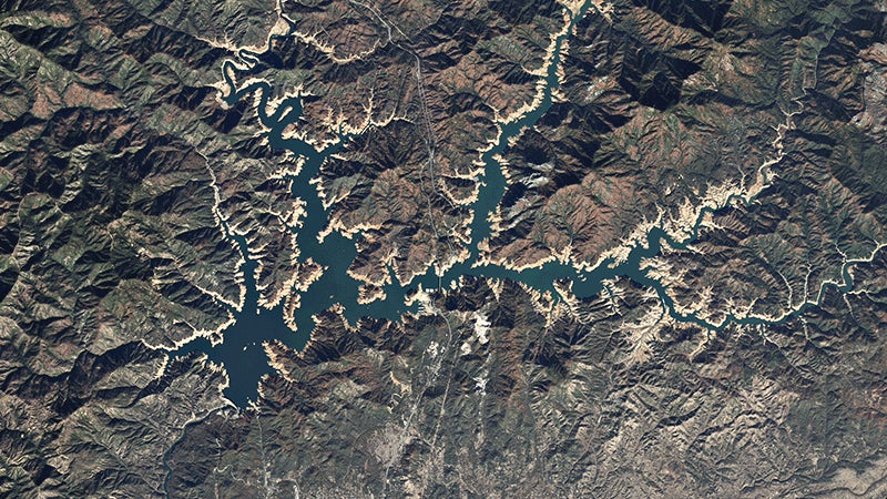 Some California Reservoirs Are Finally Getting Back to Normal