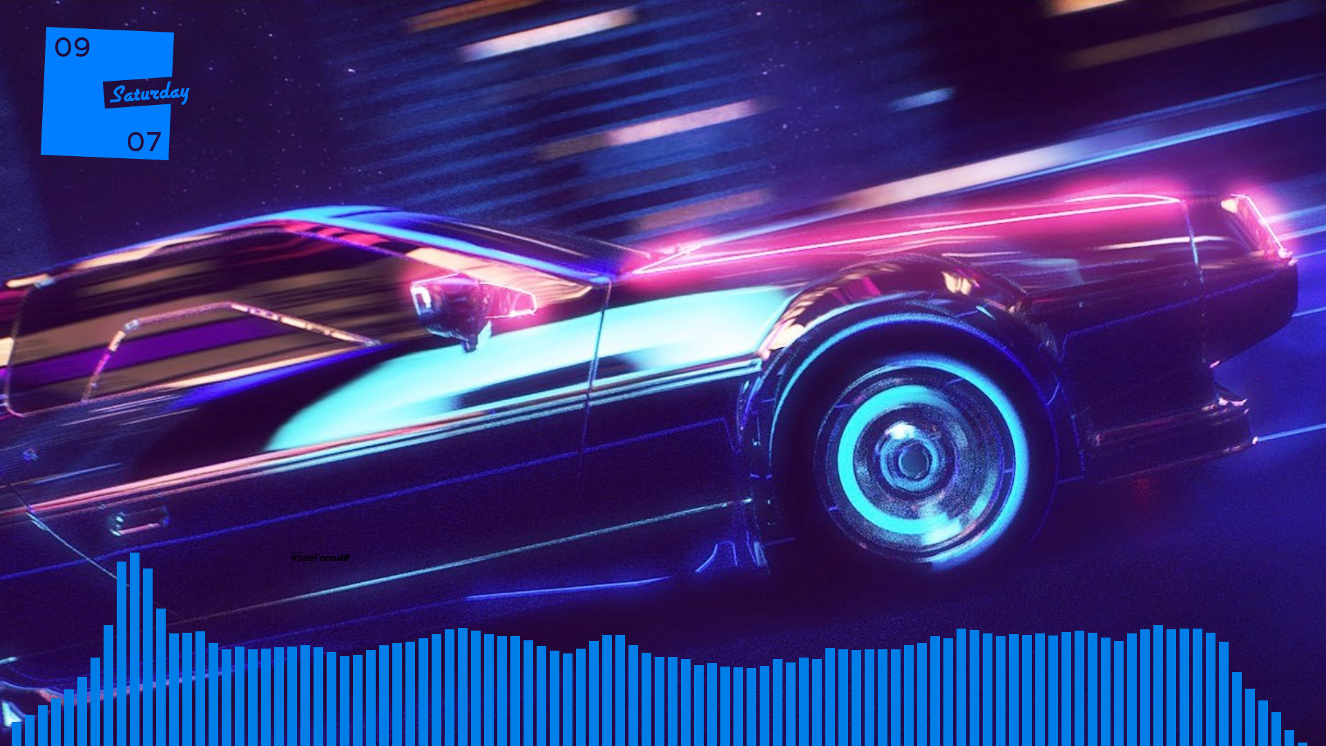 The Synthwave Desktop