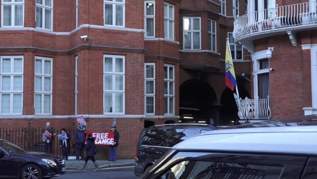 Ecuador Just Cut Off Julian Assange's Internet, Says He Meddled In International Affairs