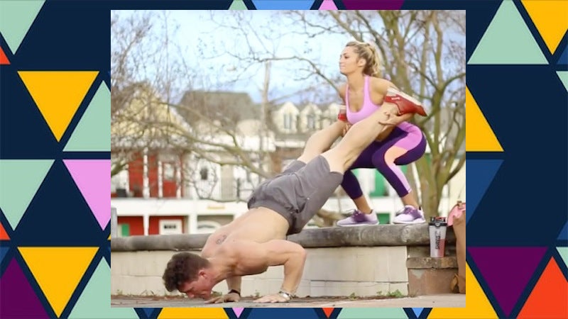 'Couple Workouts' Are The Answer To Exercising With Your Partner