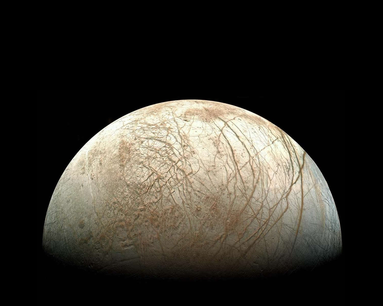 Europa Remastered: This 90s Space Image Has Been Retouched By NASA
