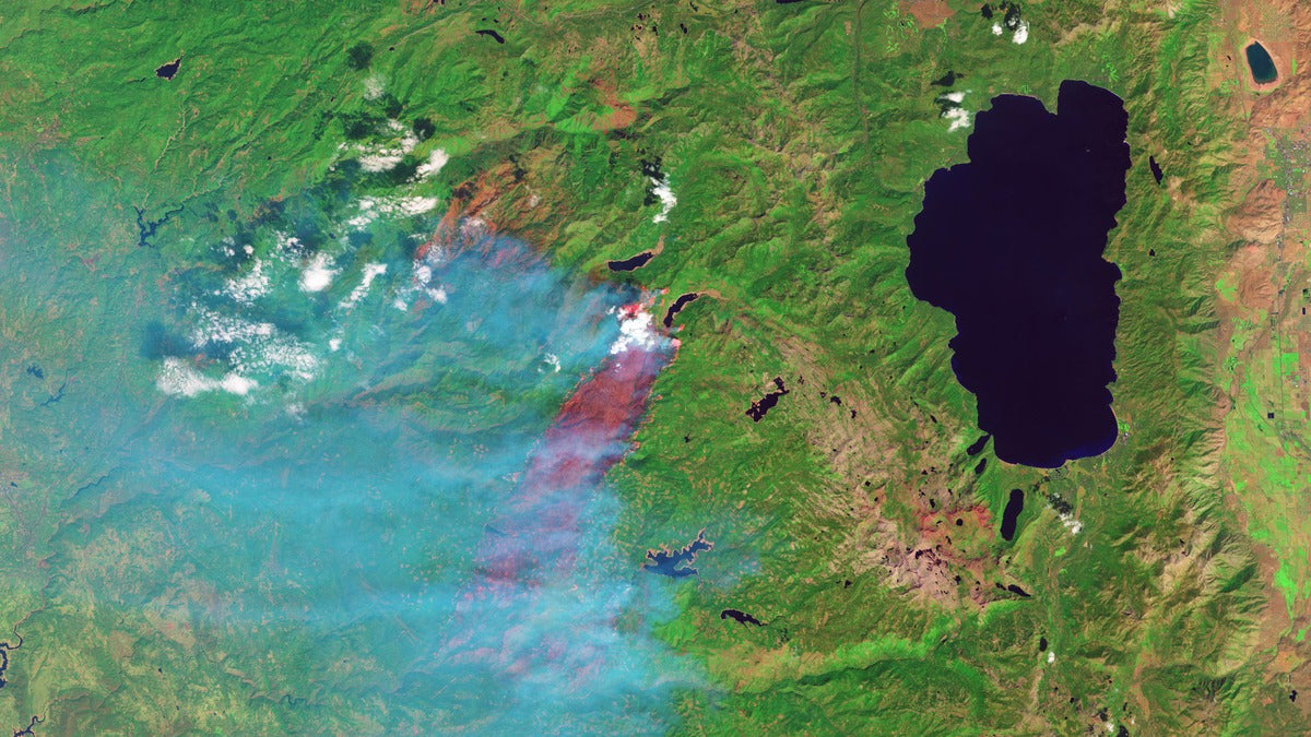 NASA Photos Show the Devastation Brought By the King Fire