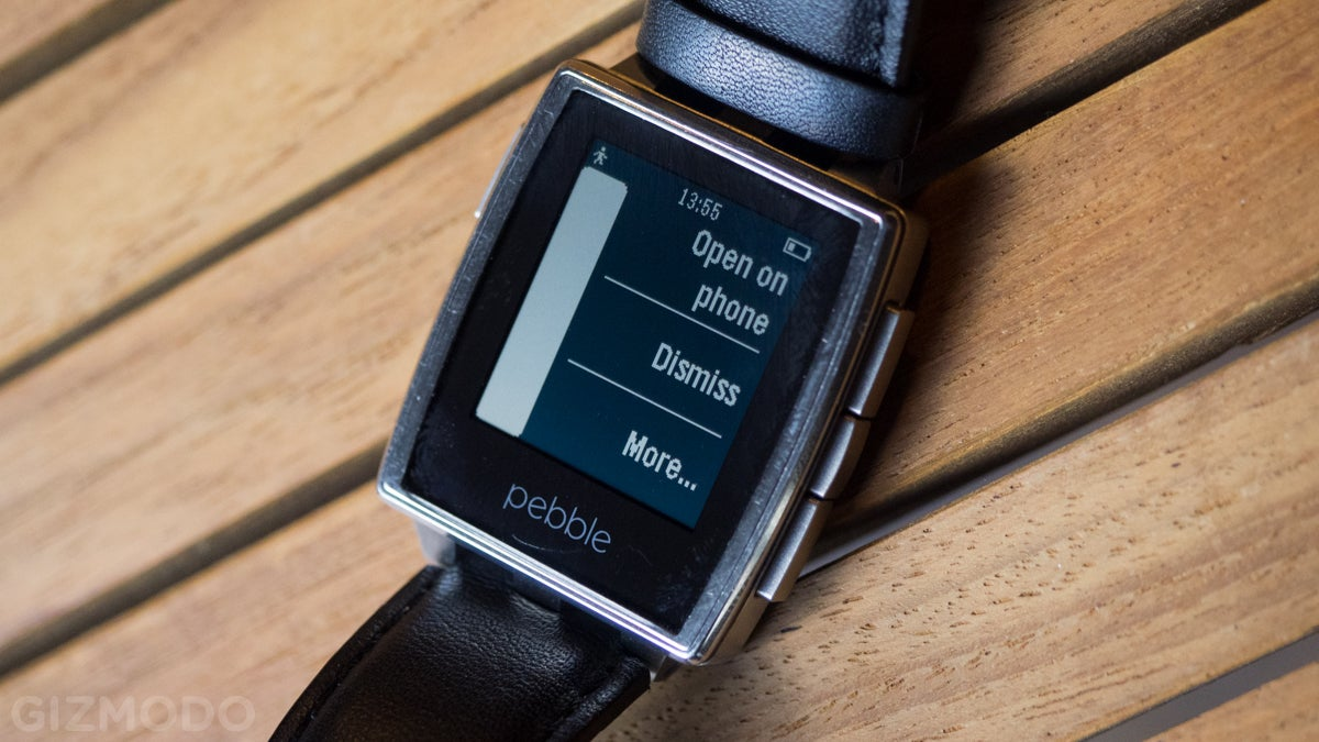 This Fantastic Pebble Smartwatch Is Now Better Than Ever