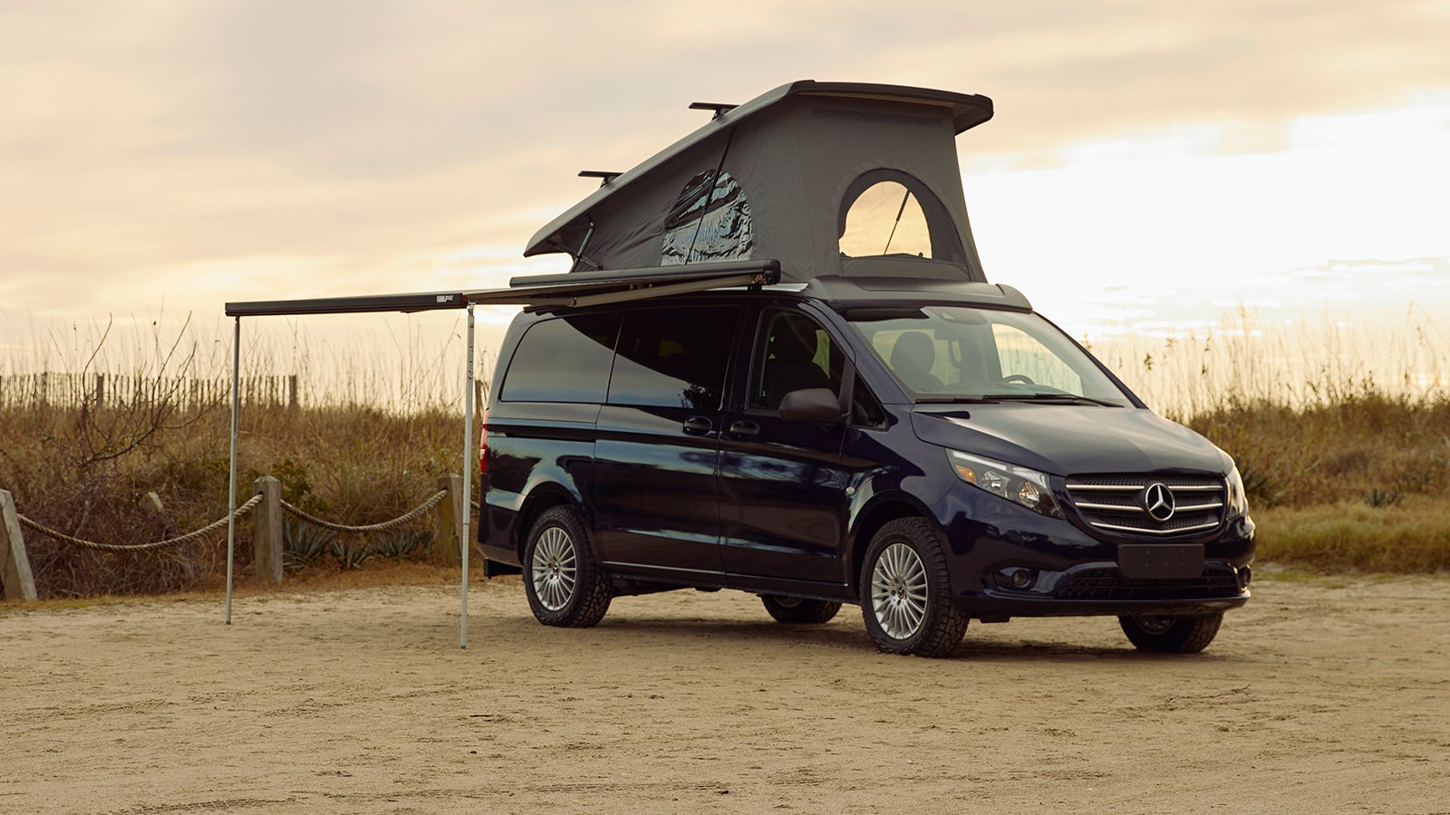 Mercedes-Benz Is Making The Factory Compact Camper Van Of Your Dreams