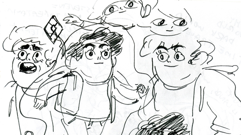 A Look Inside The Art Behind The Earliest Days Of Steven Universe