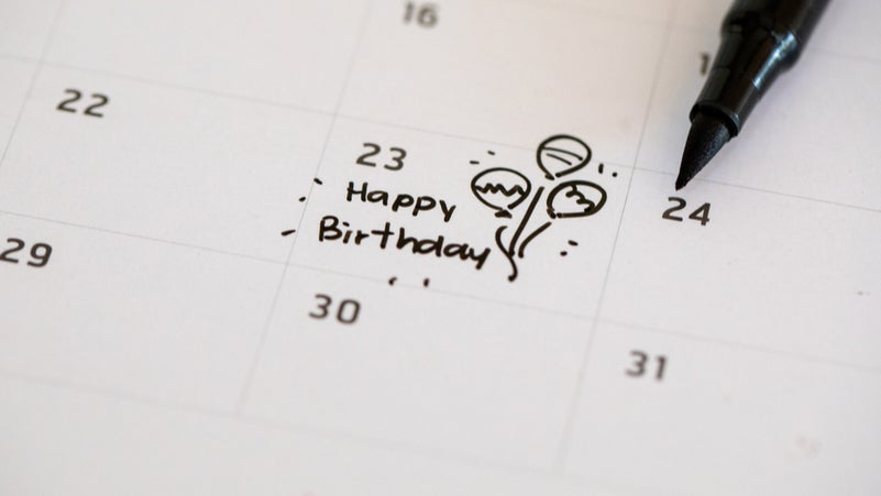 Start Money Goals On Your Birthday, Not January 1