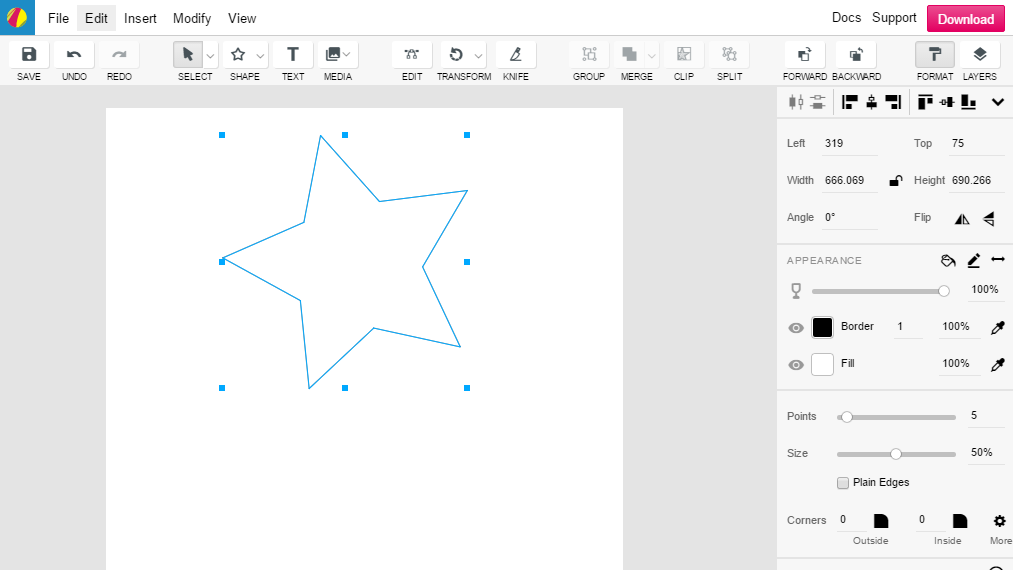 Gravit is a free browser based alternative to adobe Free illustrator alternative