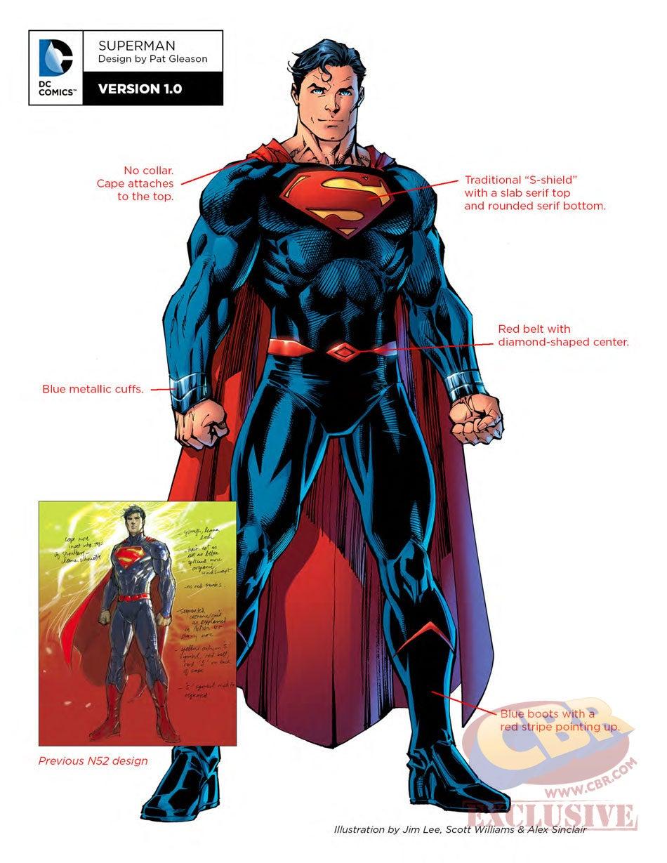 DC Reveals Its New Rebirth Superhero Costumes