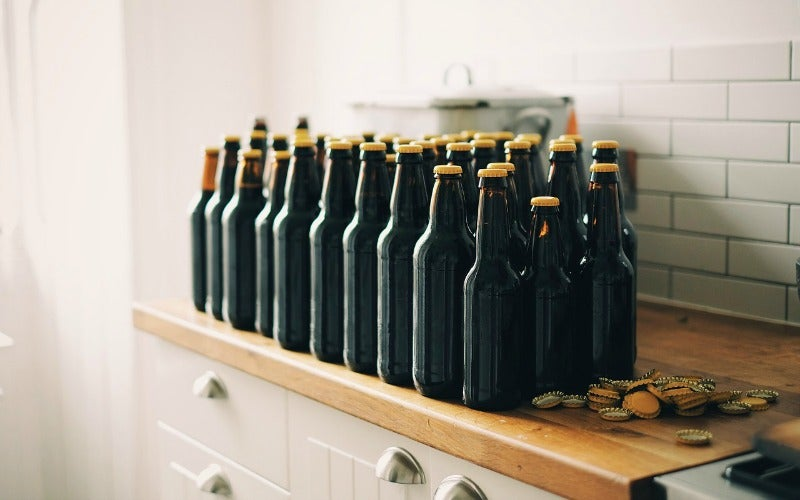 Properly Store Beer You're Saving So It Doesn't Go Bad