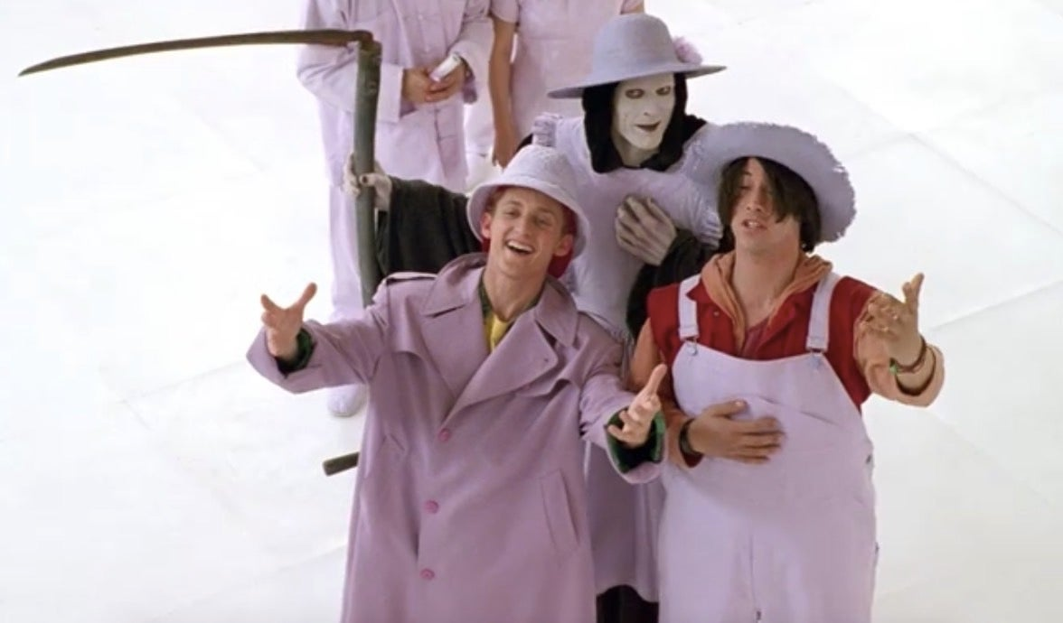 Bill & Ted Face The Music Is Auctioning Off A Totally Triumphant Walk-On Role For Charity
