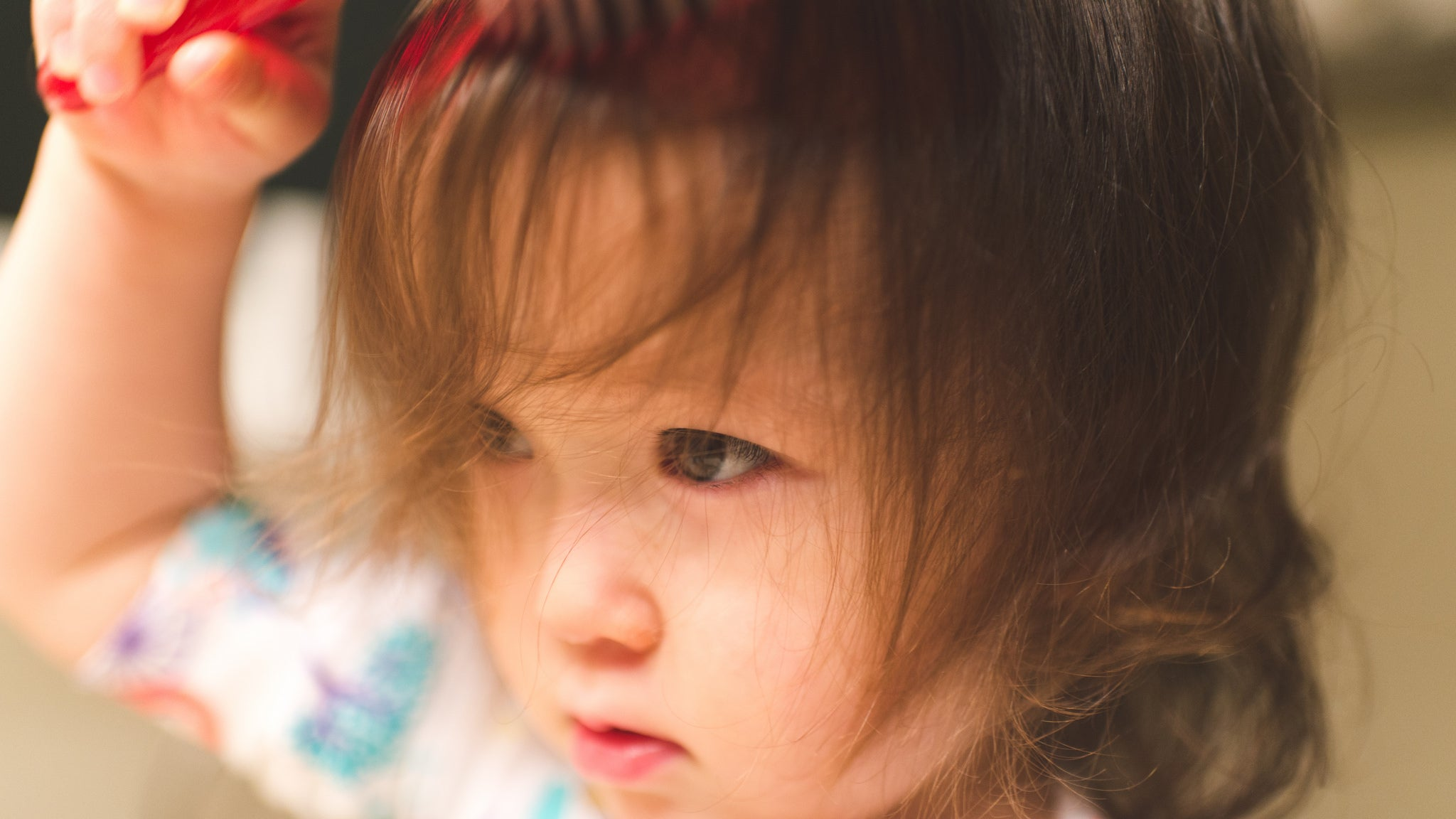 Trim Your Toddler's Bangs With Nose-Hair Scissors