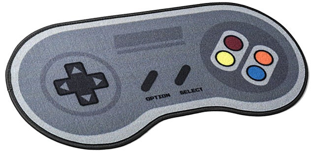 Wipe Your Feet On This SNES Controller Doormat