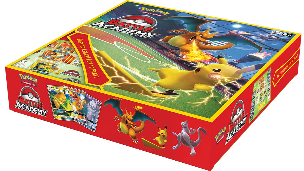 Pokémon Battle Academy Turns The Trading Card Game Into A Board Game