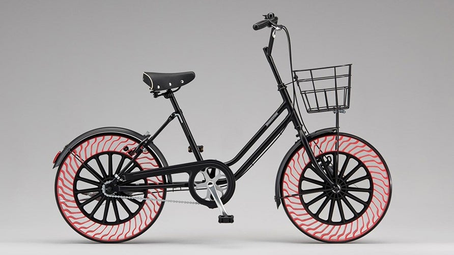 Bridgestone's Airless Tyres Will Soon Let Cyclists Abandon Their Bike Pumps