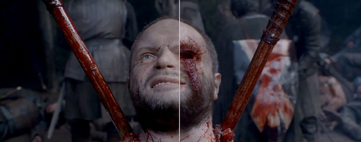 How the gore in Game of Thrones is added in post production