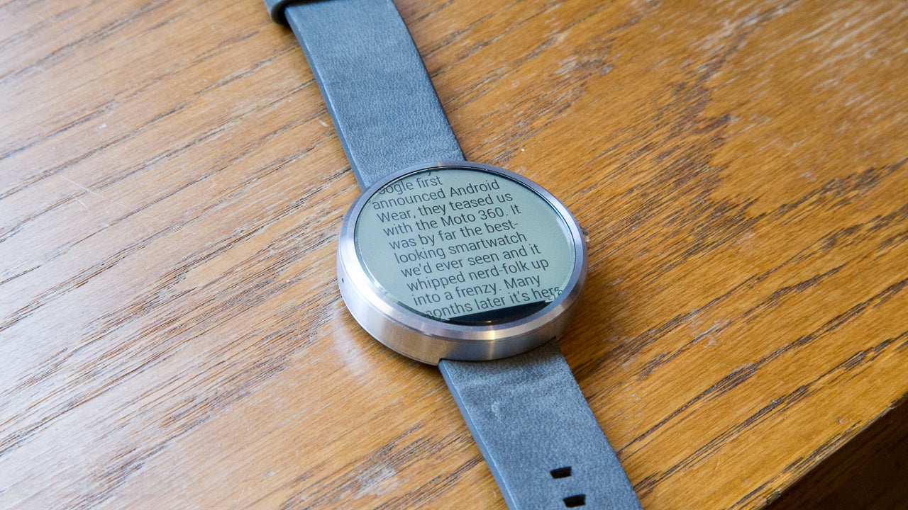 Moto 360 Smartwatch Review: The Best Might Not Be Enough