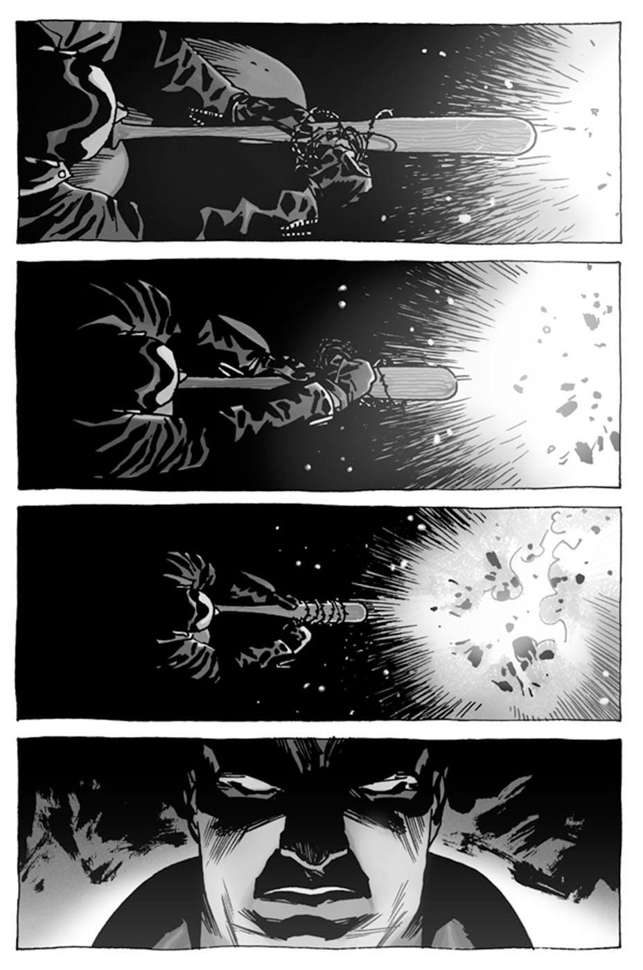 The Walking Dead Comic Is Finally Revealing Negan's Backstory