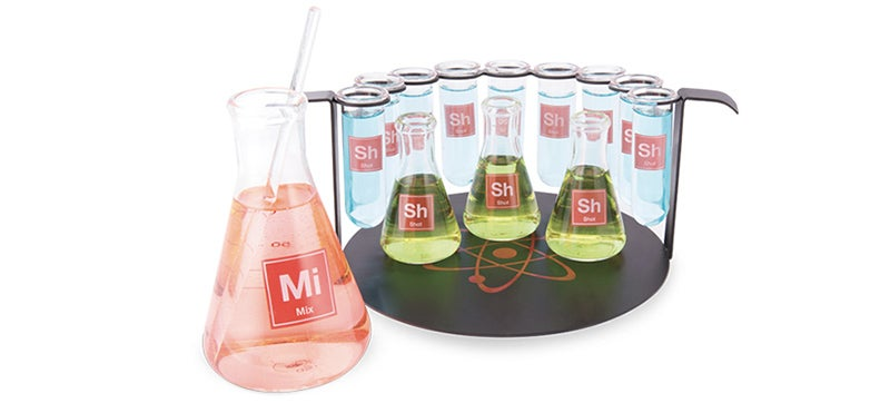 Study the Science of Shots With a Chemistry Set For Your Bar