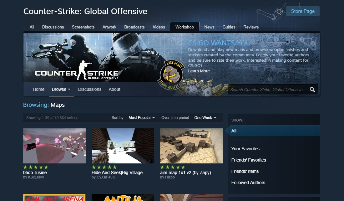 Steam Workshop Content Must Now Go Through An Approval Process