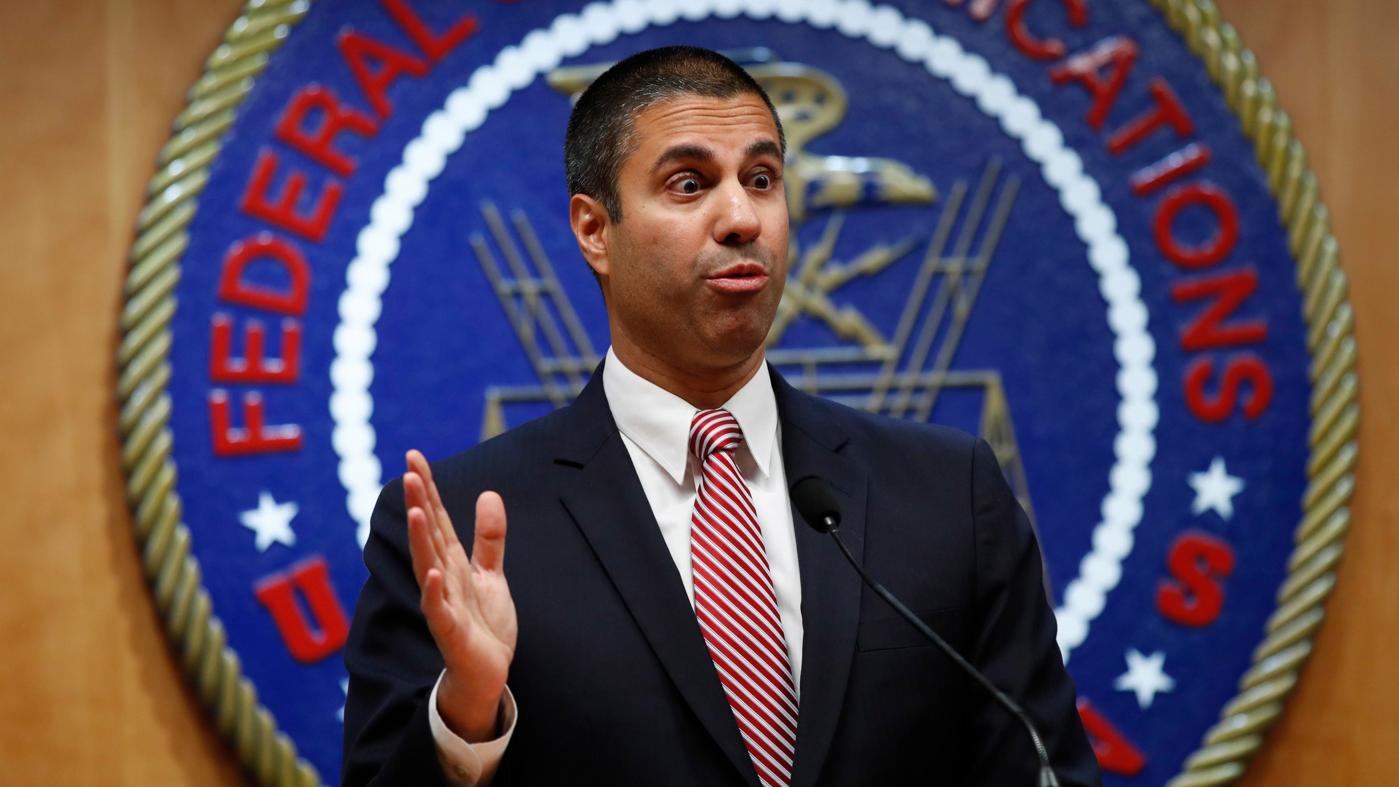 Loathsome Shill Ajit Pai Drops Out Of Planned CES Appearance
