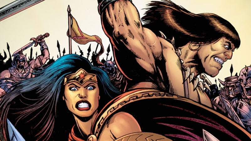 Gail Simone Returns To Wonder Woman With CONAN Crossover