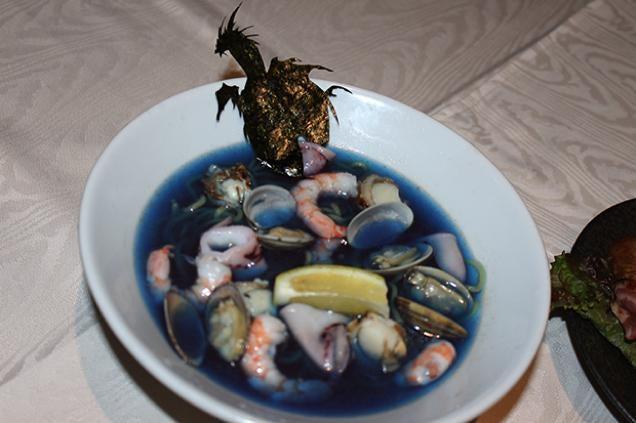 Final Fantasy Blue Ramen Looks Utterly Disgusting