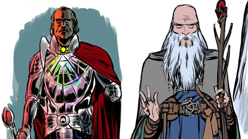 Meet Doctor Strange's Magical New Teammates, Including Isaac Newton And Merlin