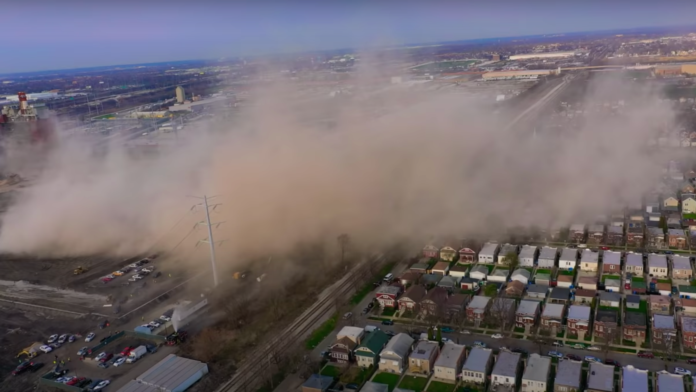 'Reckless' Coal Plant Demolition In Chicago Releases Massive Dust Cloud
