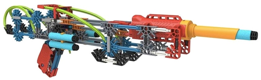You'll Soon Be Able To Use K'NEX To Build Your Own Custom Dart Guns