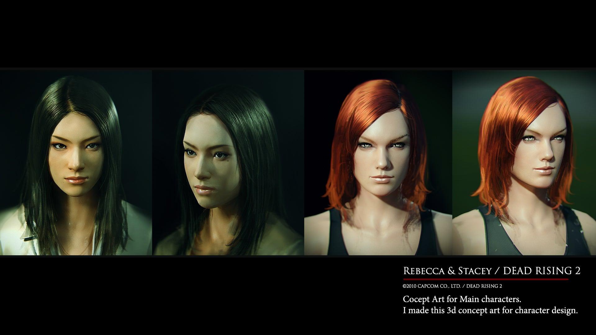 The Work Of A Capcom Concept Art Legend