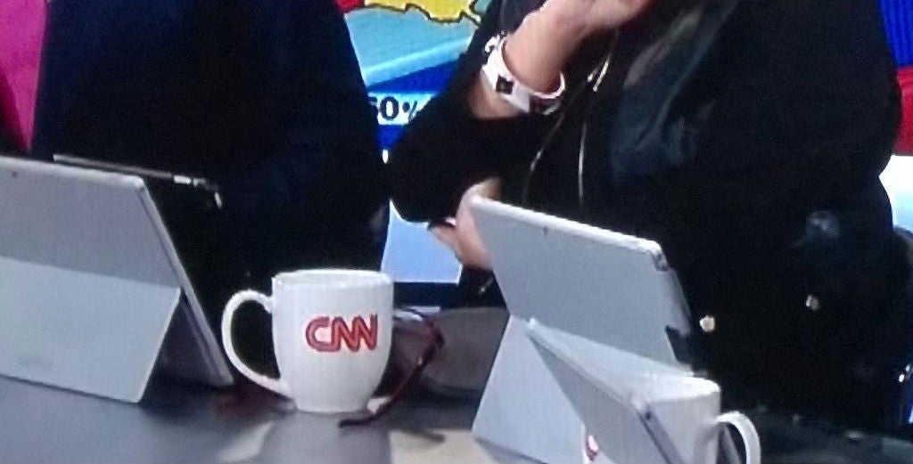 CNN Discovers Promotional Surface Pros Make Fantastic iPad Stands