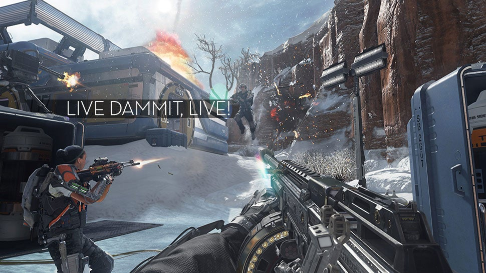 Advanced Warfare Cracks Down On Players Killing Themselves On Purpose