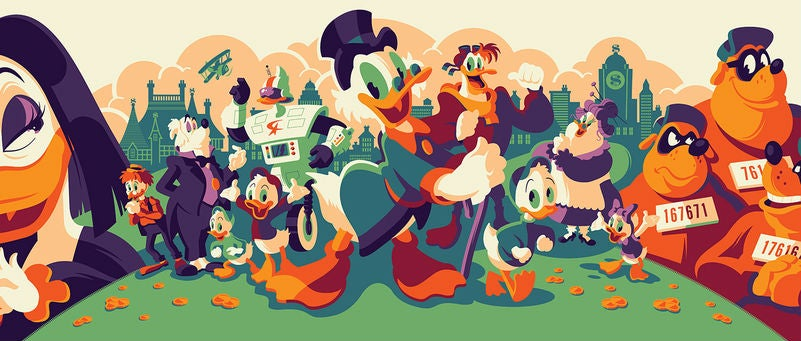 Some Of Your Favourite Disney Animated Series Are Getting Their Own Art Show