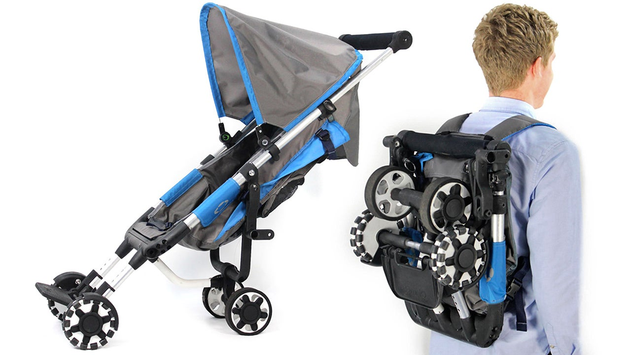 Clever Backpack Stroller Is Always at the Ready, Never in the Way