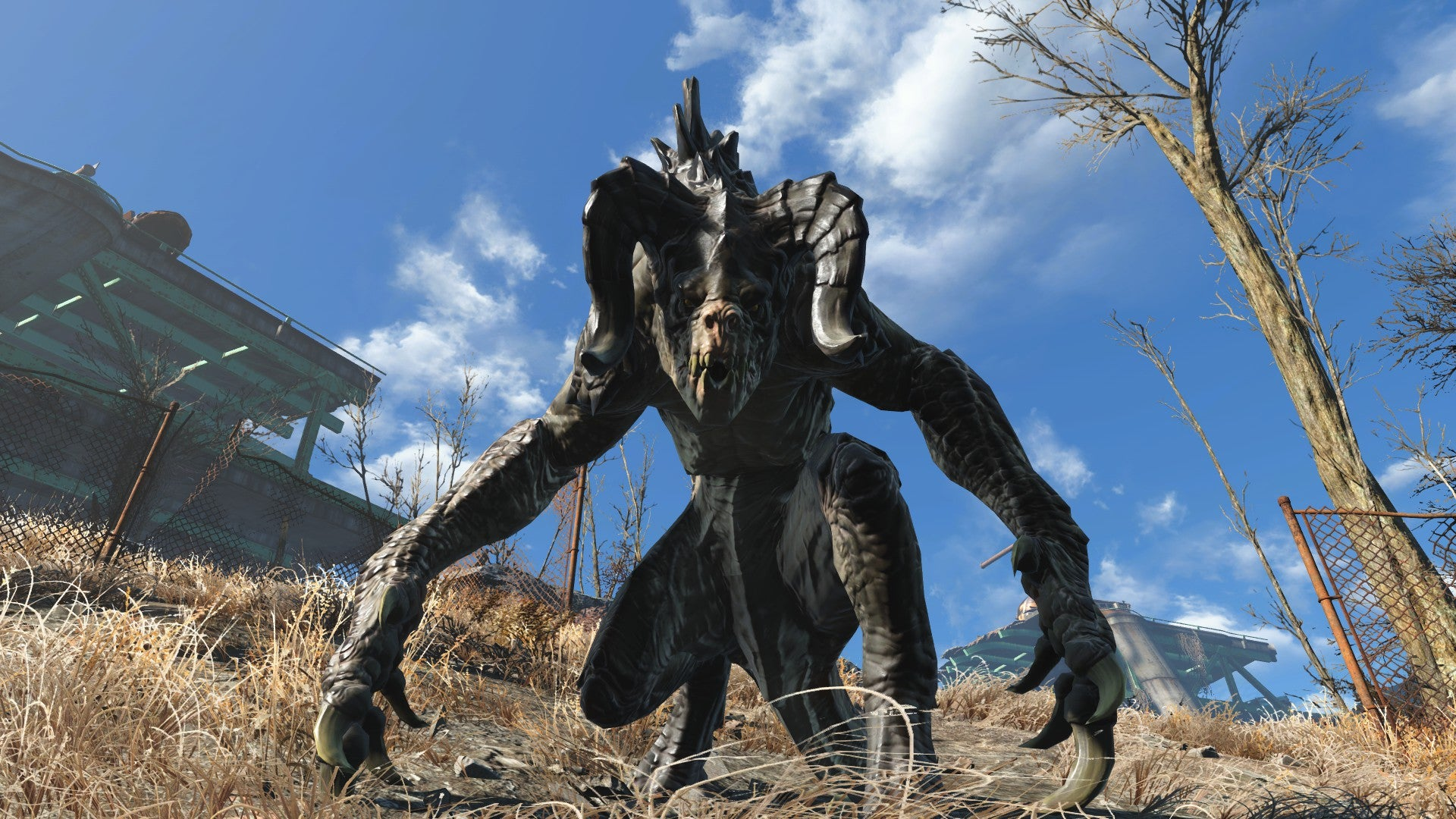 Catching A Deathclaw In Fallout 4's New Wasteland Workshop DLC